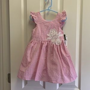 Rare editions 3T dress new with tags